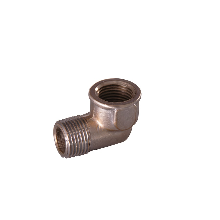 Barclay Brushed Nickel Brass Elbow
