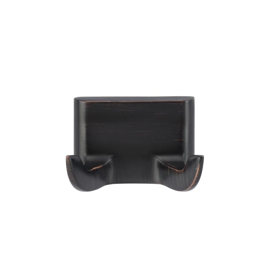 Barclay Hennessey 2-Hook Oil-Rubbed Bronze Robe Hook