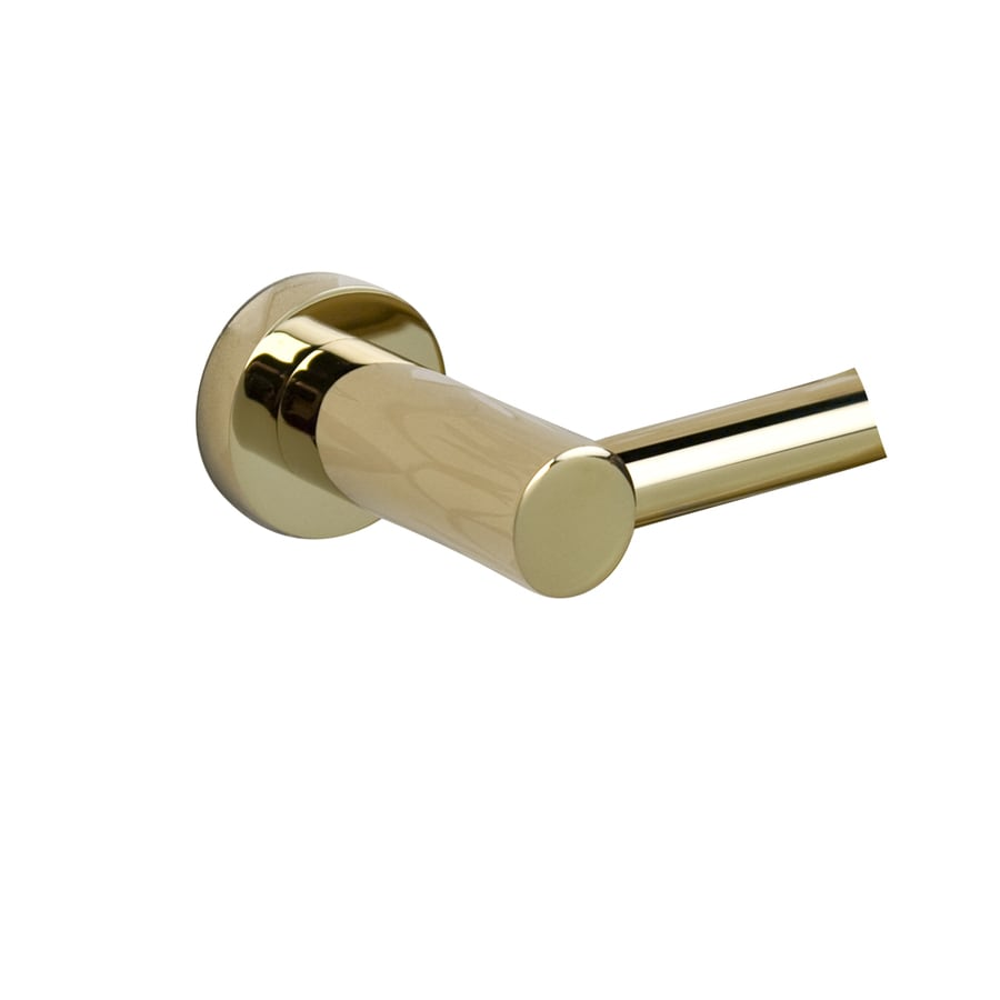 Barclay Berlin Polished Brass Single Towel Bar (Common: 26-in; Actual: 25.25-in)