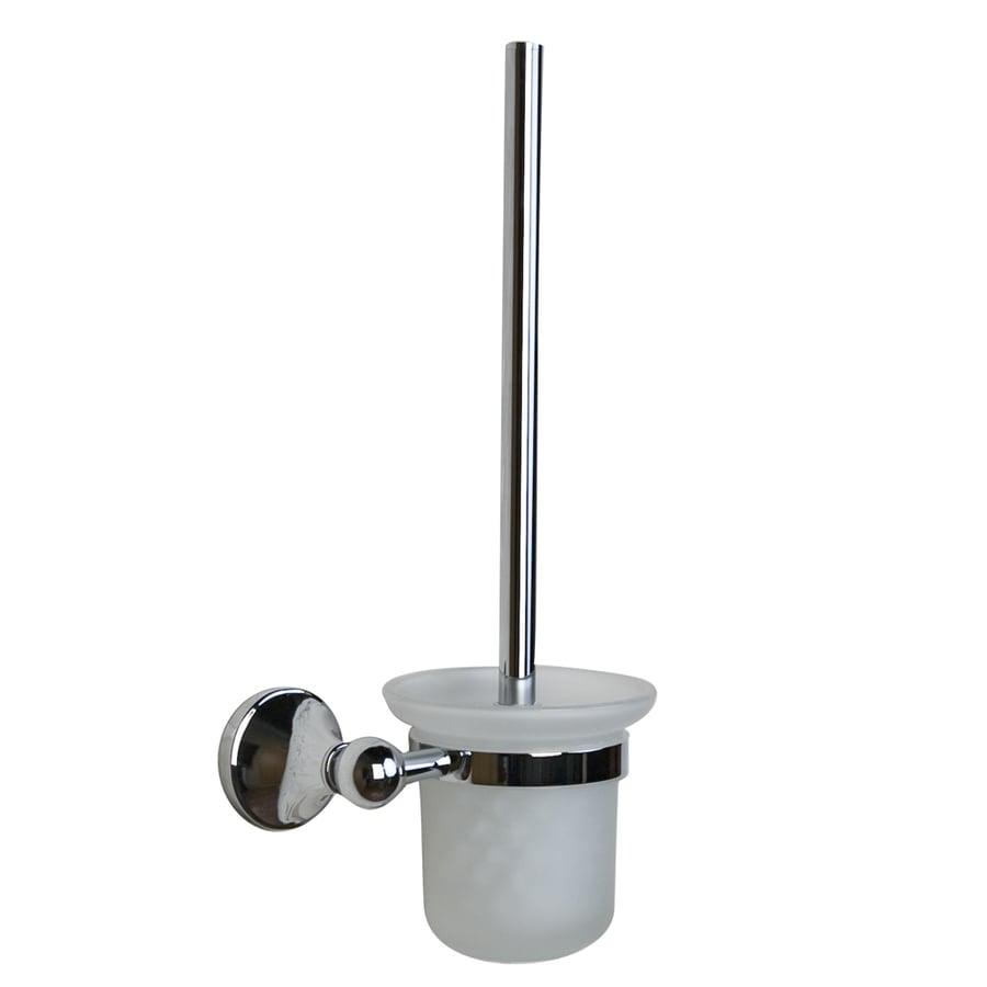 Barclay Kendall Chrome Brass Toilet Brush Holder