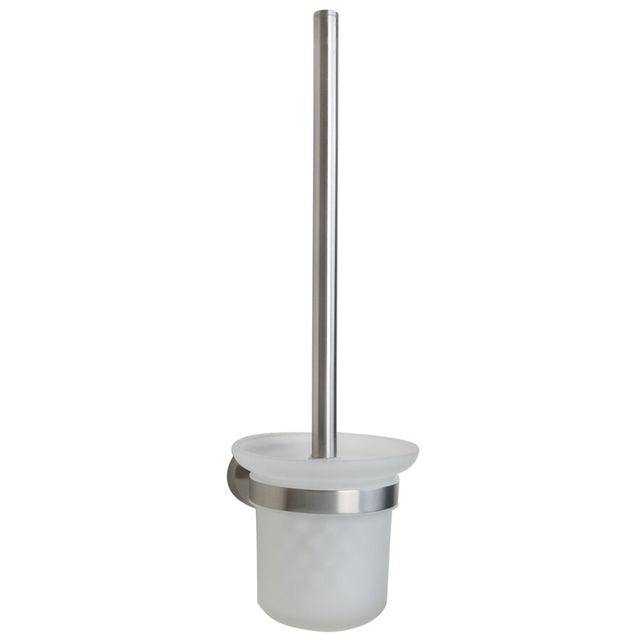 Barclay Berlin Brushed Nickel Brass Toilet Brush Holder