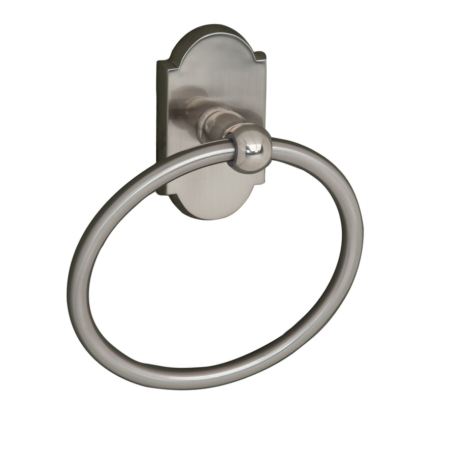 Barclay Abril Satin Nickel Wall Mount Towel Ring