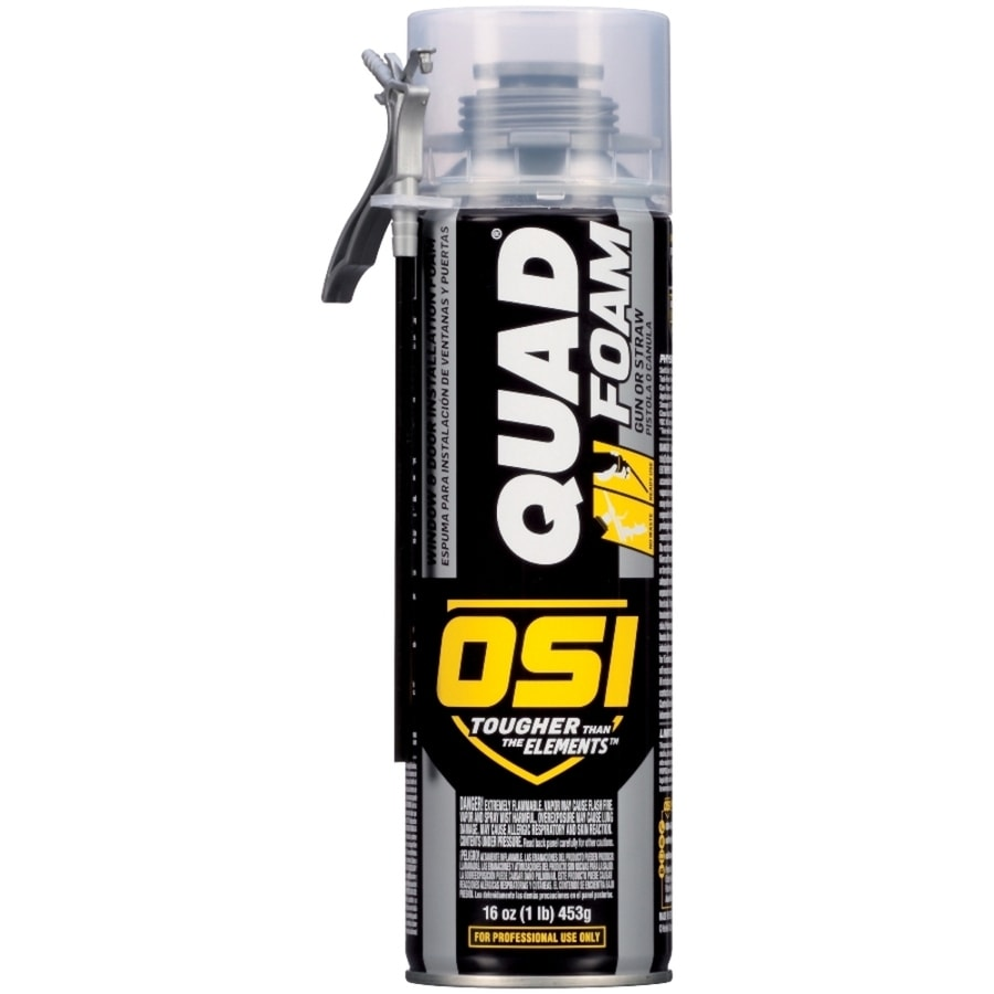 Shop Osi Quad 16 Fl Oz Spray Foam Insulation At Lowes Com