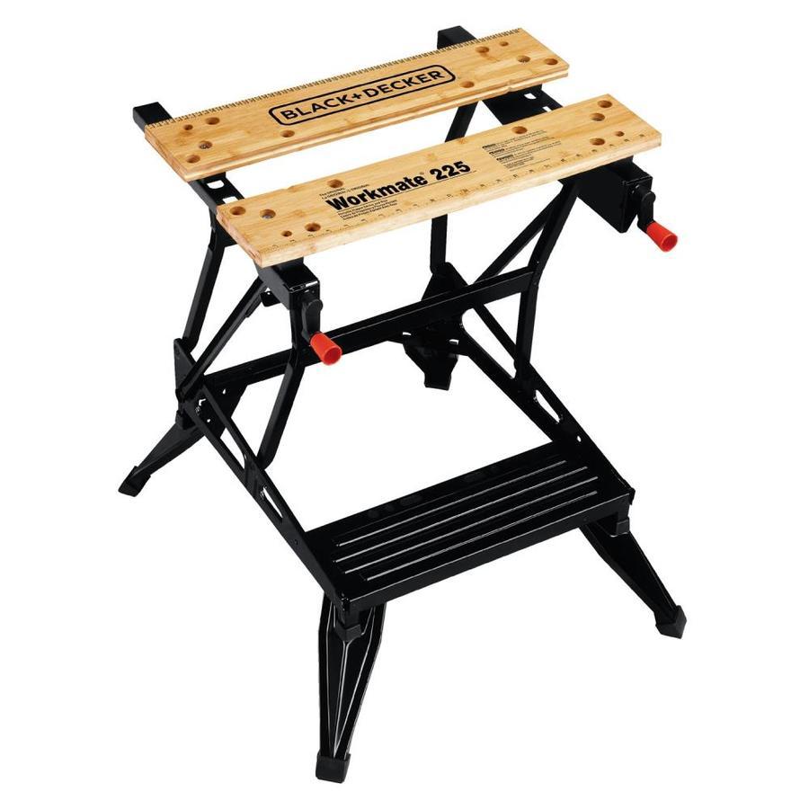 BLACK & DECKER 6.75-in W x 30.125-in H Wood Work Bench