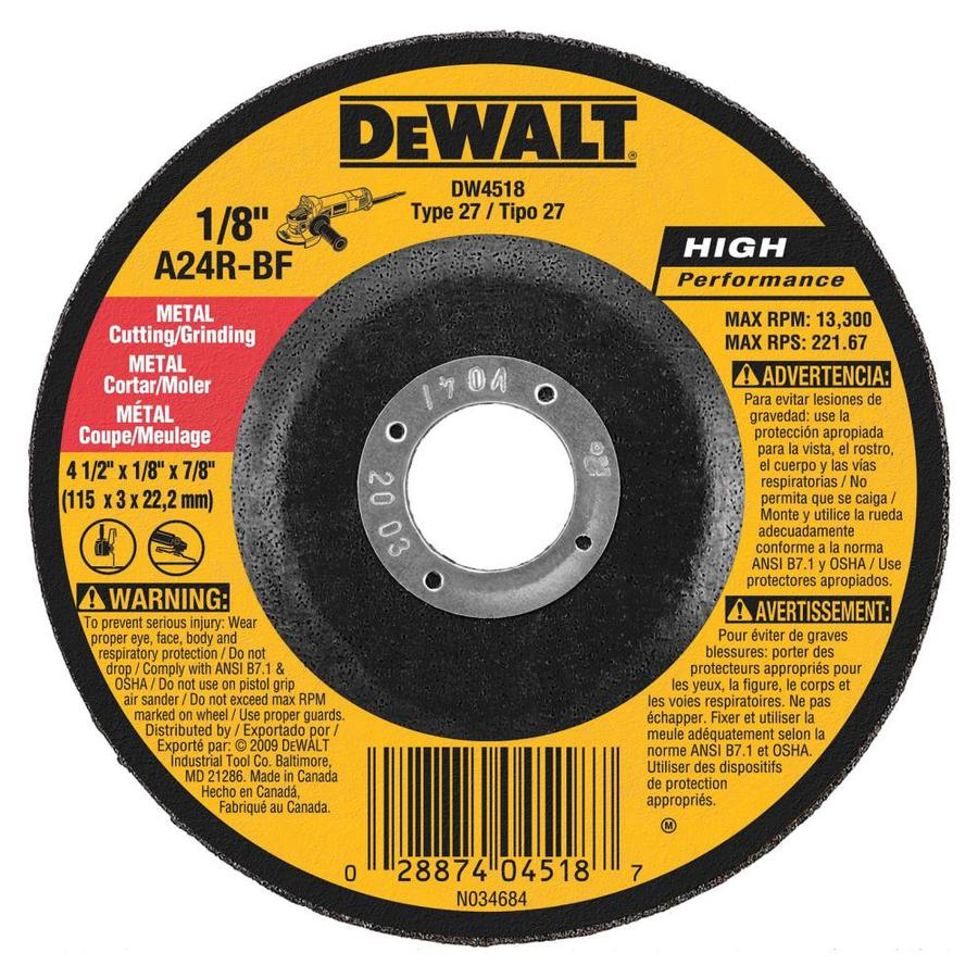 Shop Dewalt General Purpose Metal Cutting Wheel At Lowes Com