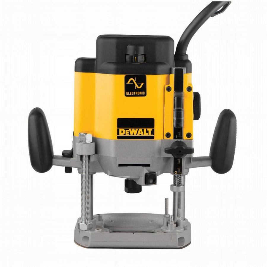 DEWALT 3-HP Variable Speed Plunge Corded Router