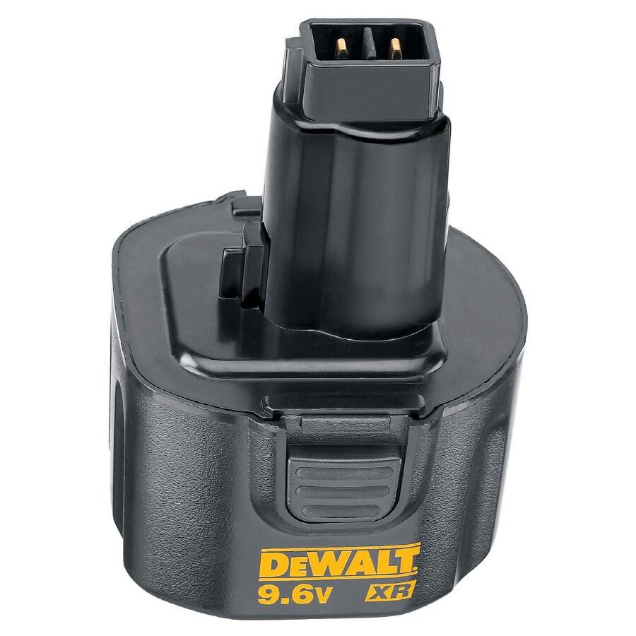 DEWALT 9.6-Volt 1.3-Amp Hours Nickel Cadmium (NiCd) Power Tool Battery