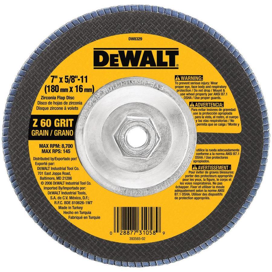 DEWALT 7-in W x 7-in L 60-Grit Industrial Heavy Grit Sandpaper