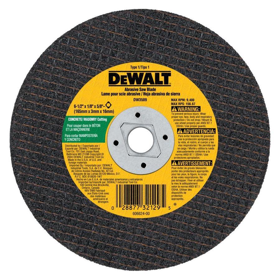 DEWALT 6-1/2-in Continuous Diamond Circular Saw Blade