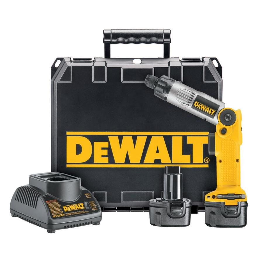 DEWALT 7.2-Volt 1/4-in Cordless Drill with Battery and Hard Case