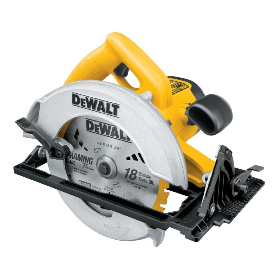 DEWALT 15-Amp 7-1/4-in Corded Circular Saw with Brake