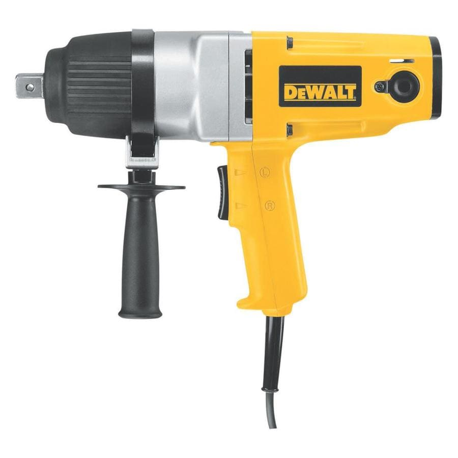 Shop Dewalt 7 5 Amp 3 4 In Corded Impact Wrench At Lowes Com