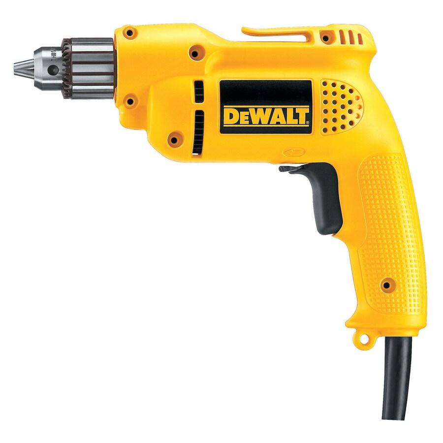 DEWALT 6 Amp 3/8-In 3/8 In. Vsr Drill
