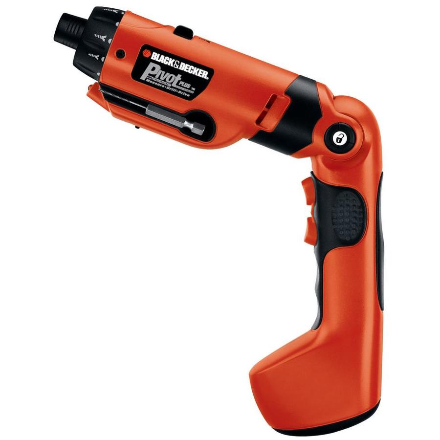 BLACK & DECKER 6-Volt-Volt 3/8-in Cordless Drill Battery Included (No Case)