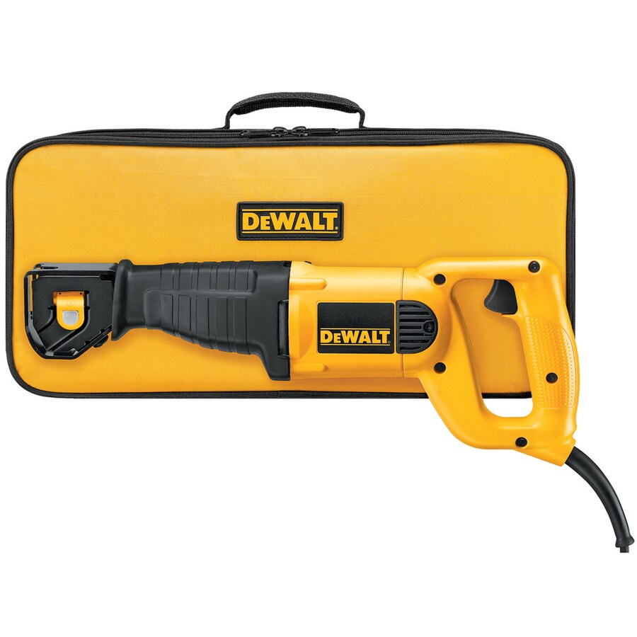 DEWALT 10-Amp Keyless Variable Speed Corded Reciprocating Saw