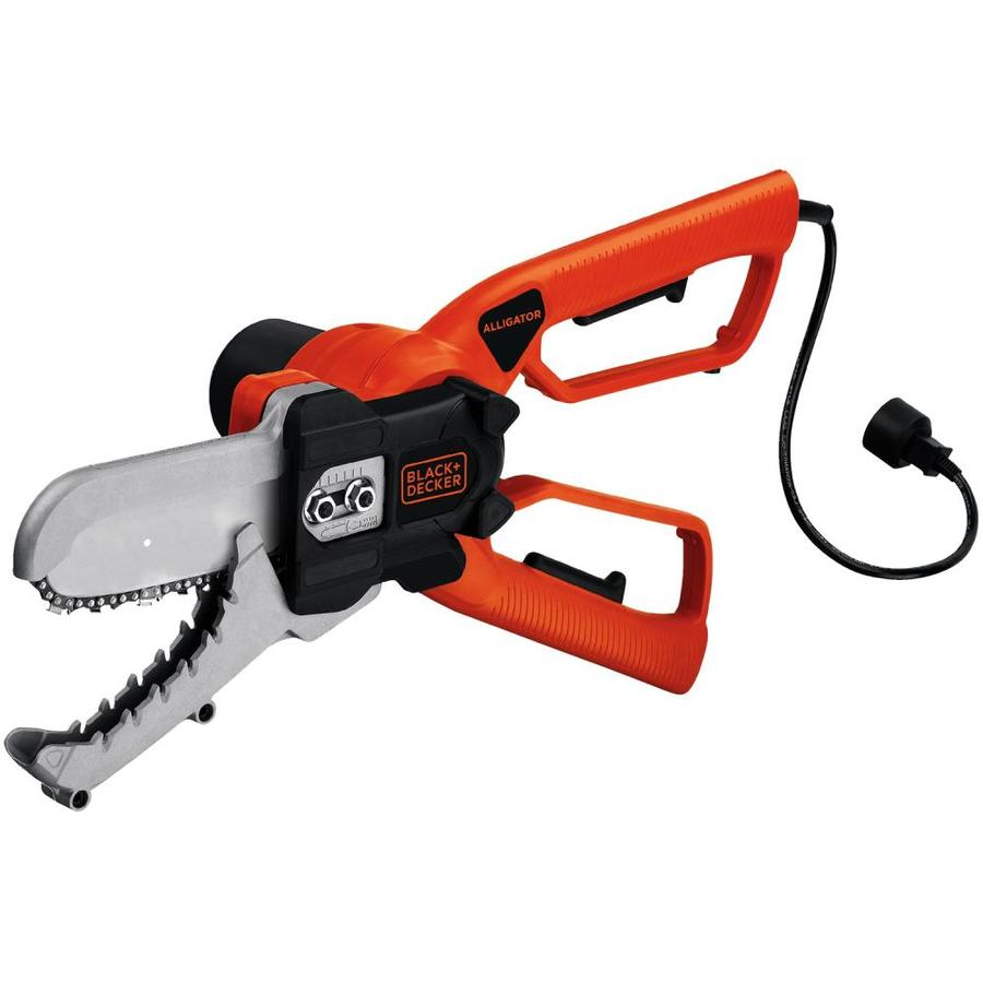BLACK & DECKER 4.5-Amp 6-in Corded Electric Chain Saw