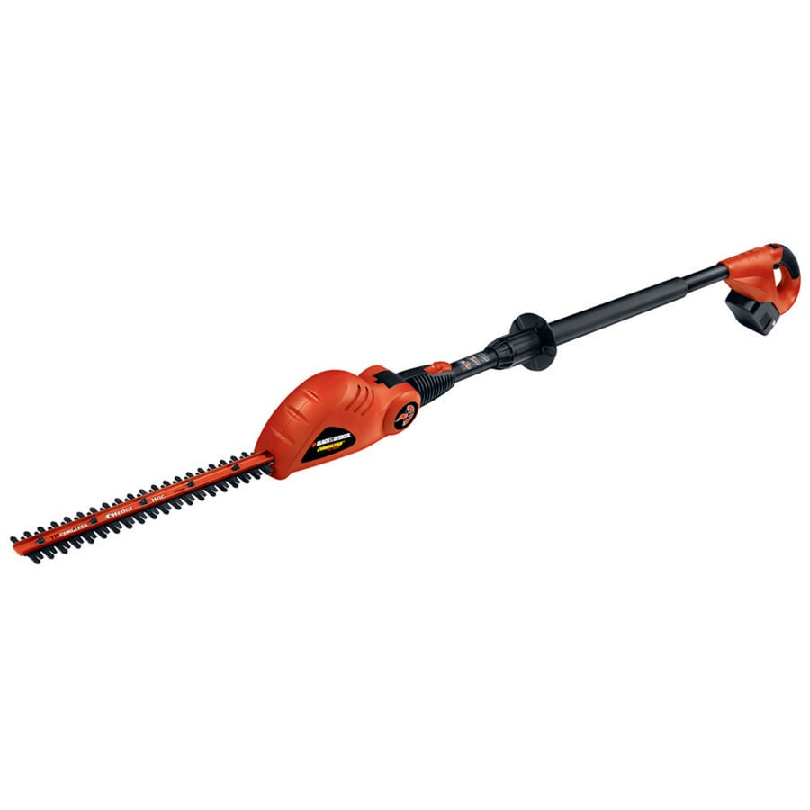 BLACK & DECKER 18-Volt 18-in Dual Cordless Hedge Trimmer