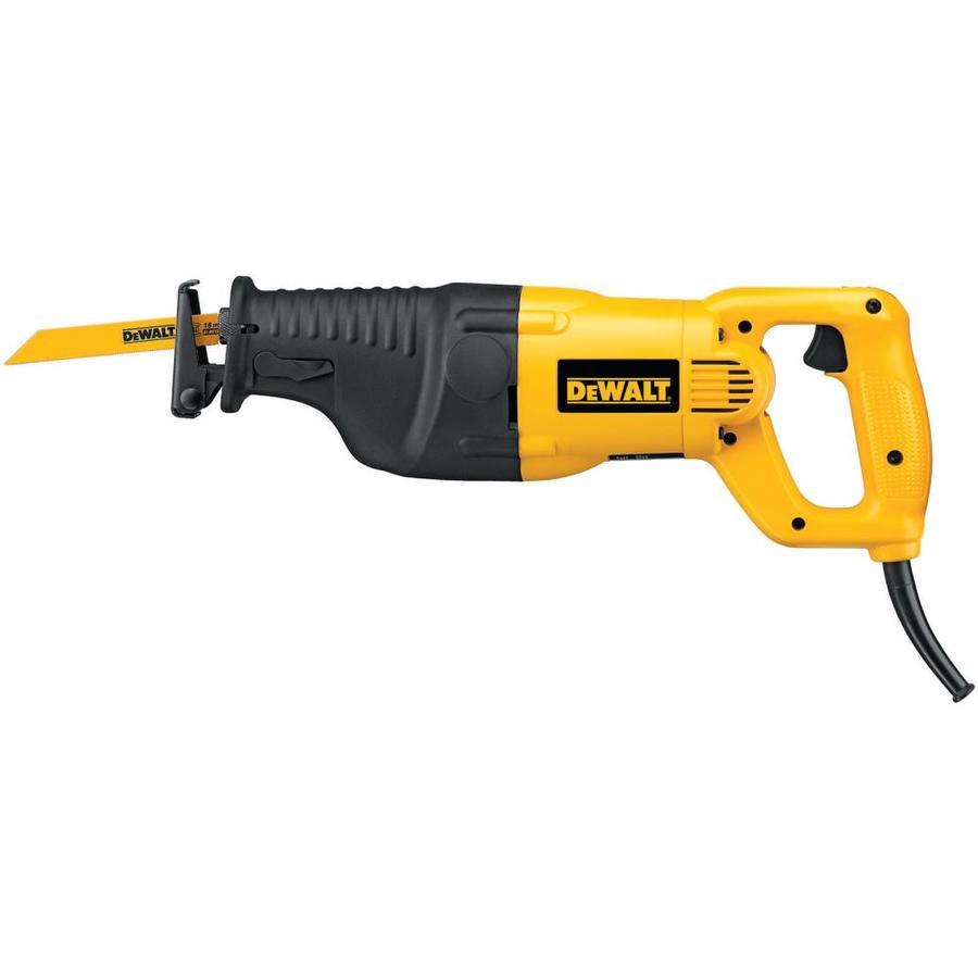 DEWALT 12-Amp  Keyless Variable Speed Corded Reciprocating Saw