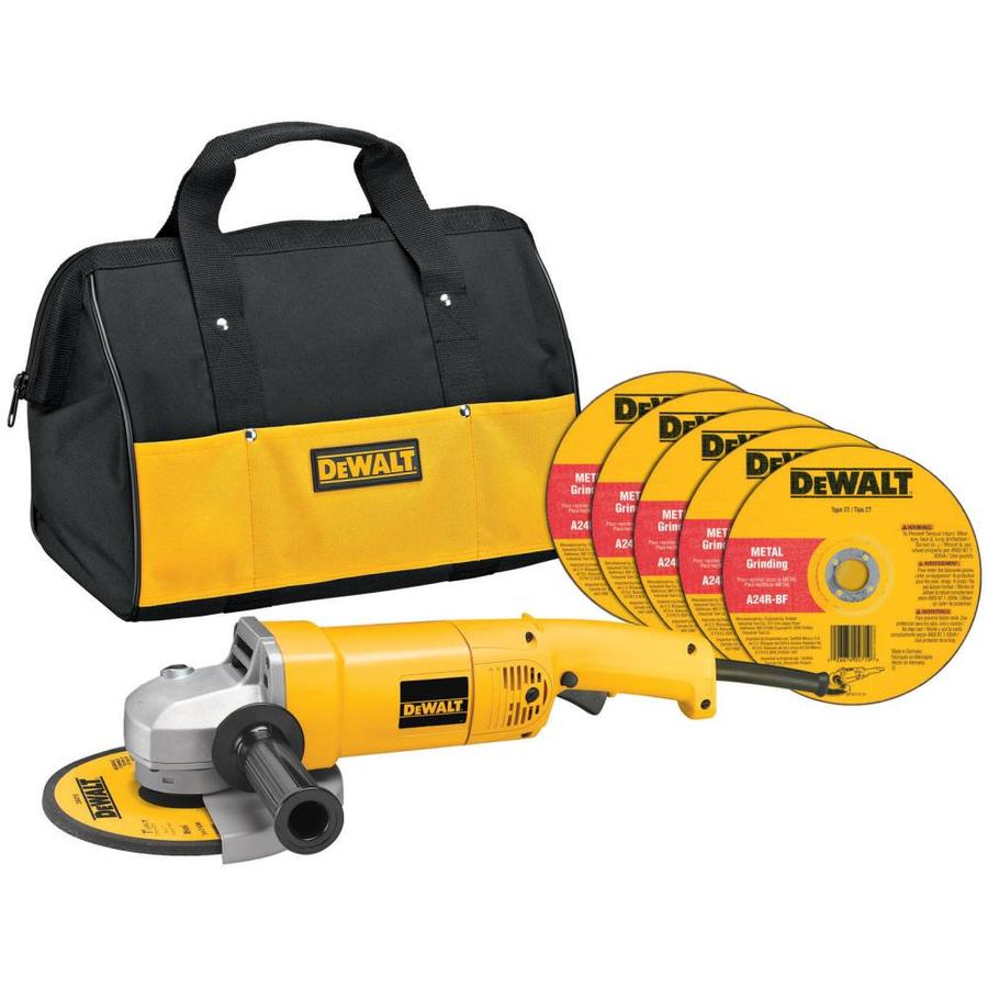 DEWALT 7-in 13-Amp Trigger Switch Corded Angle Grinder