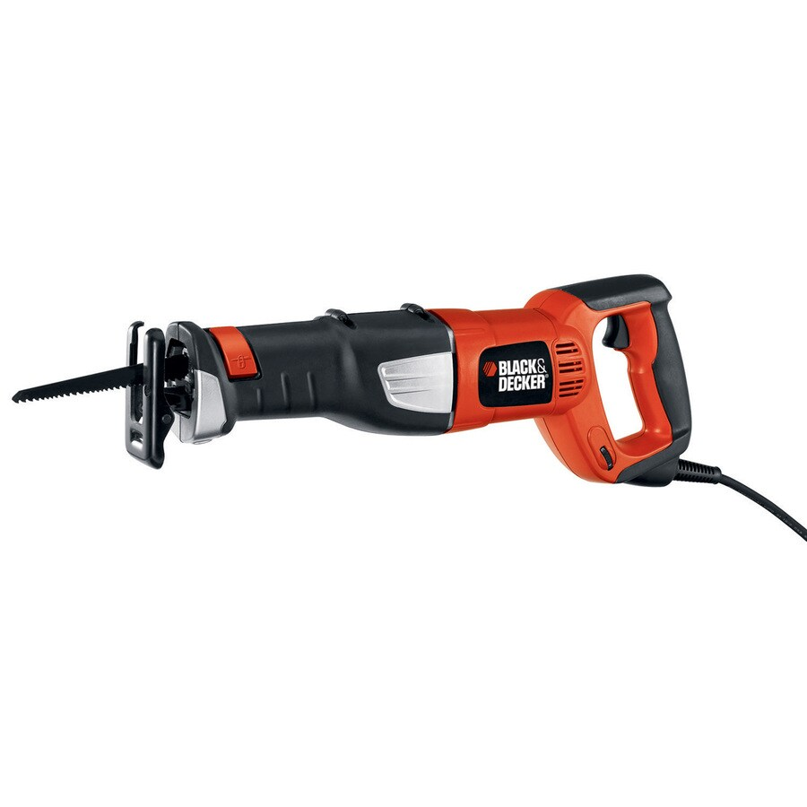 BLACK & DECKER 8.5-Amp Keyless Variable Speed Corded Reciprocating Saw