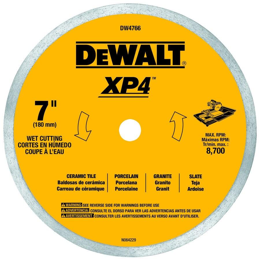 DEWALT 7-in Wet Continuous Diamond Circular Saw Blade