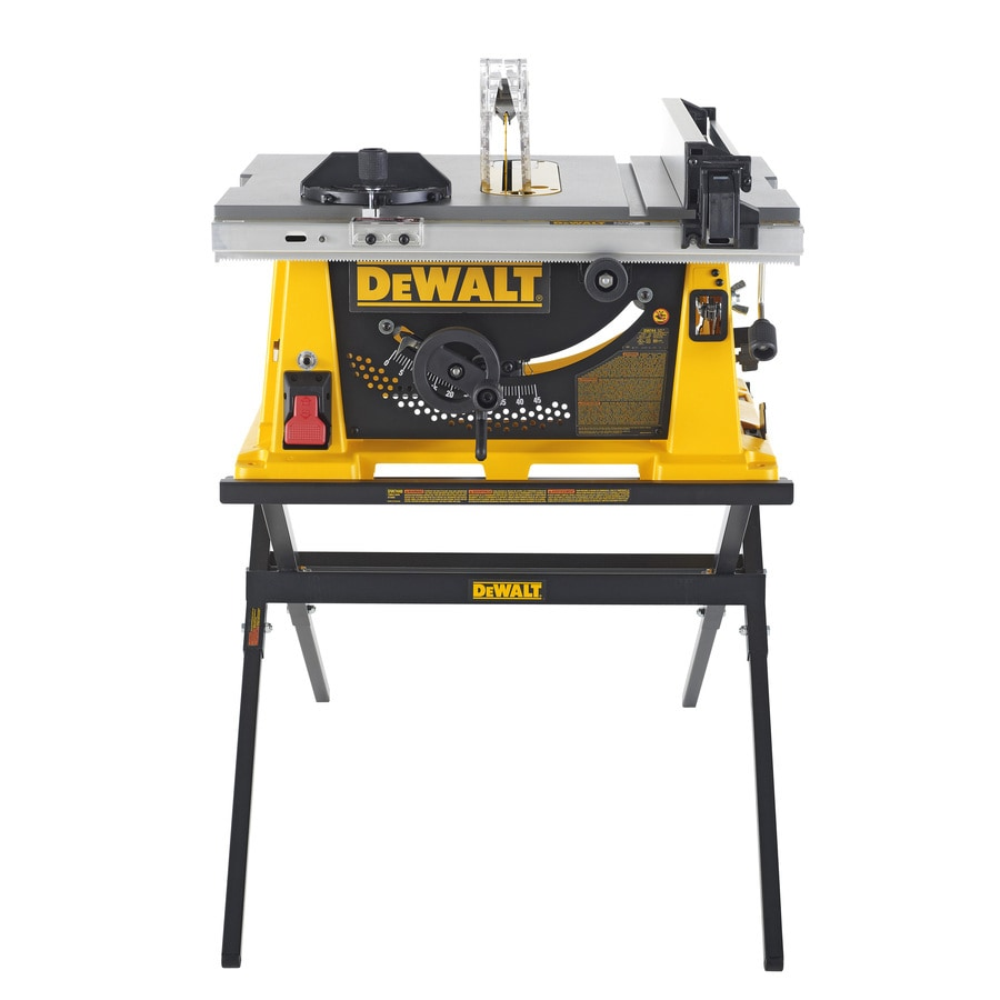 Shop dewalt 15 amp 10 in table saw at for Table saw lowes