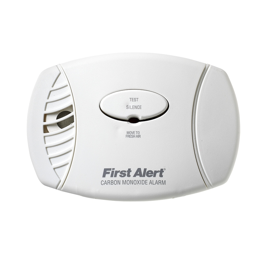 First Alert AC Plug-In Carbon Monoxide Detector Battery Back-Up
