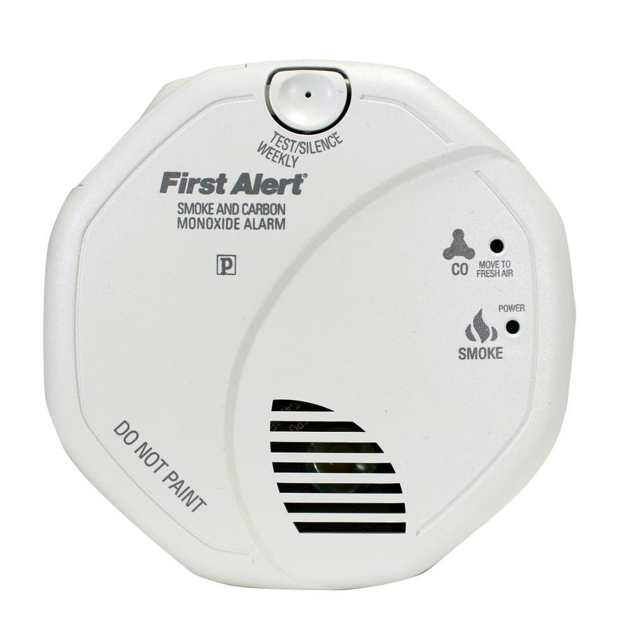 First Alert AC Hardwired Combination Smoke and Carbon Monoxide Detector with Photoelectric Sensor and Battery Back-Up