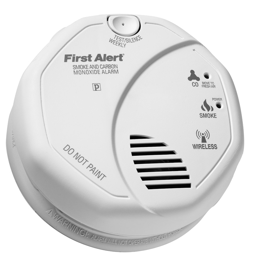 Shop First Alert Battery Operated Carbon Monoxide Smoke