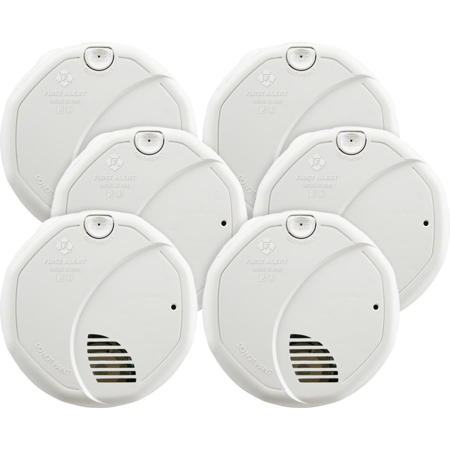 Styles First Alert BRK 3120B Hardwired Smoke Detector with Assorted Sizes