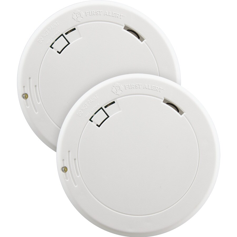 5-Year Smoke Sensor Alarm Detector Battery Operate Home Fire Safety Alert Warn