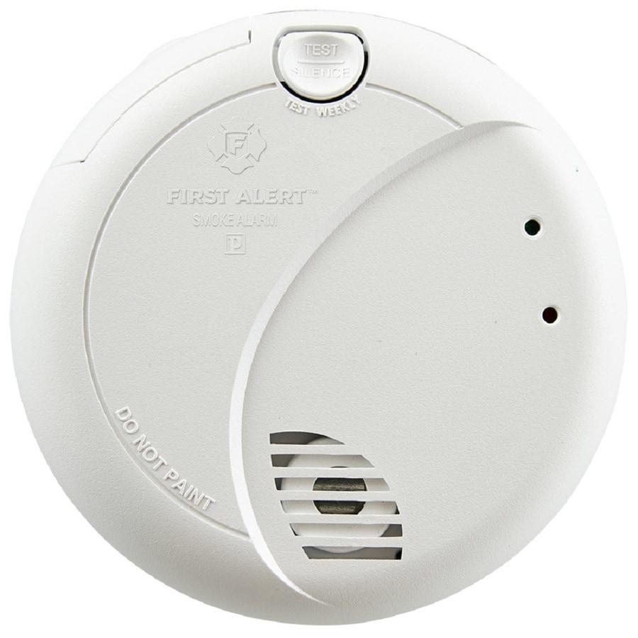 First Alert AC Hardwired 120-Volt Smoke Detector