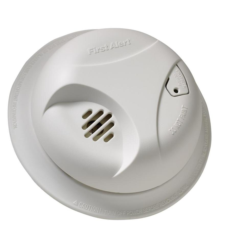 First Alert Battery-Powered 9-Volt Smoke Detector