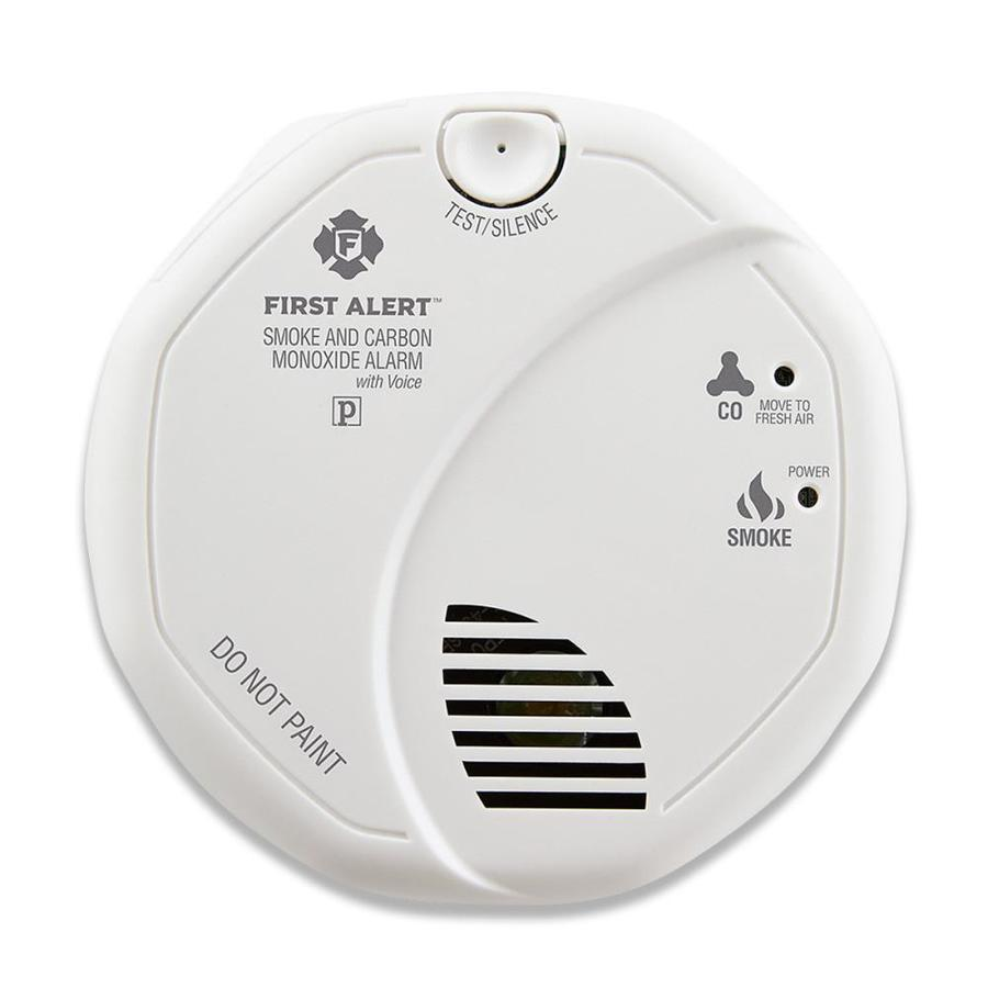 First Alert Battery-Powered Combination Smoke and Carbon Monoxide Detector with Photoelectric Sensor