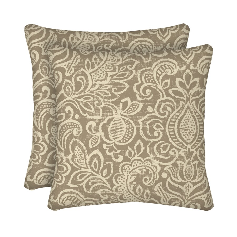 Shop Garden Treasures 2 Pack Neutral Stencil Paisley