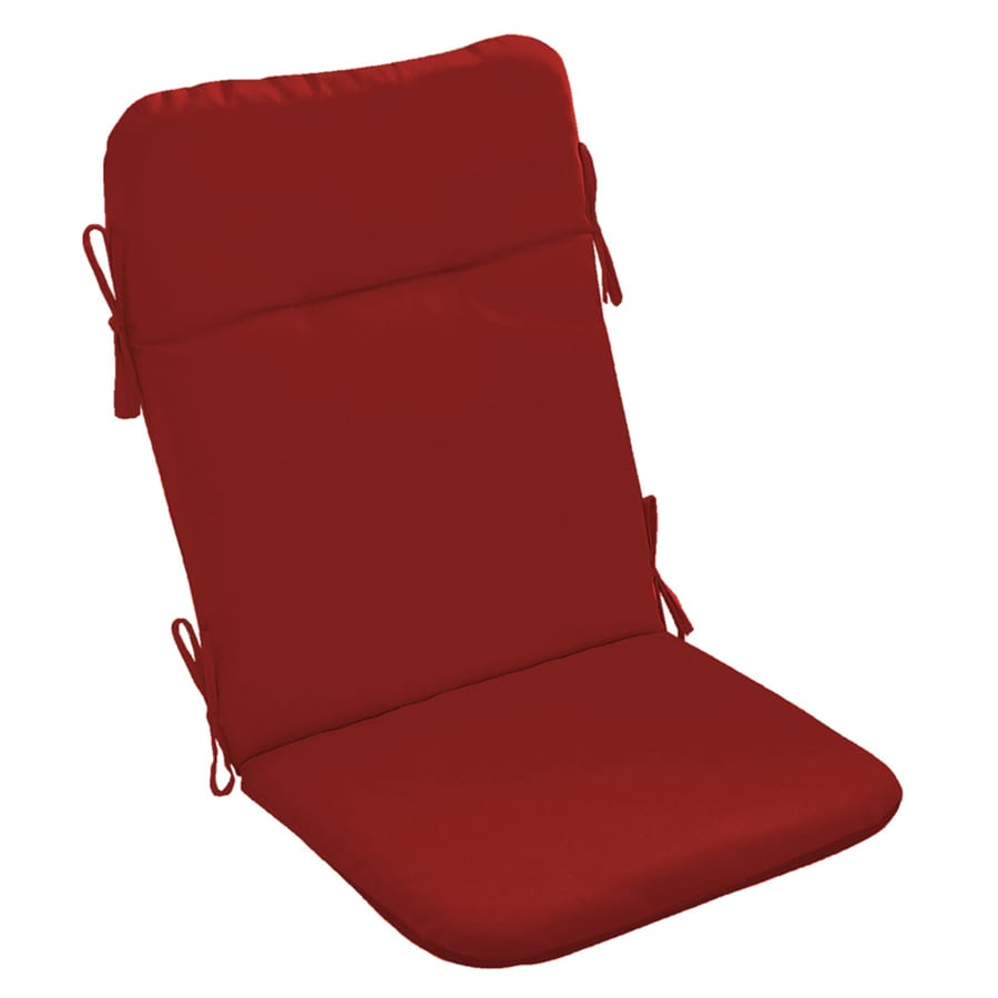 Garden Treasures Red Solid Cushion For Adirondack Chair