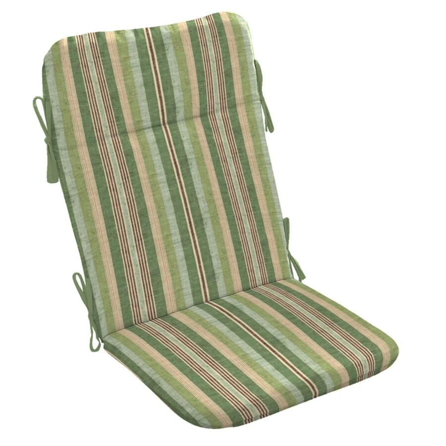 allen + roth Green Stripe Cushion For Adirondack Chair