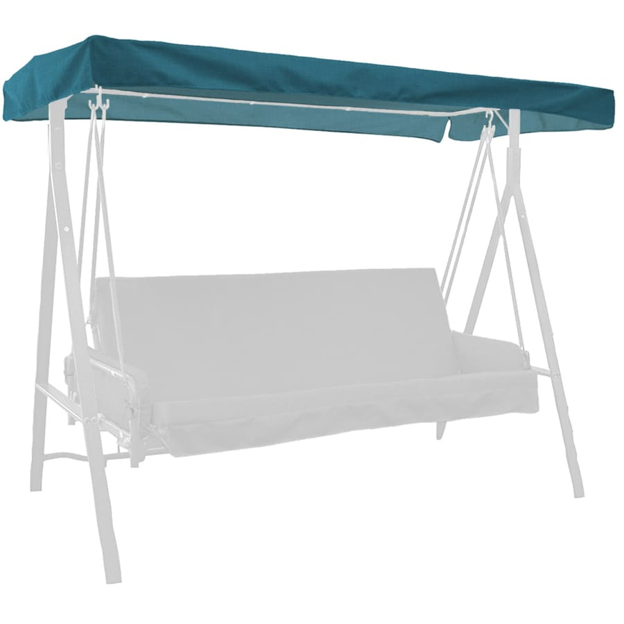 Arden Outdoor Flame Stitch Solid 3-Person Replacement Top for Porch Swing or Glider