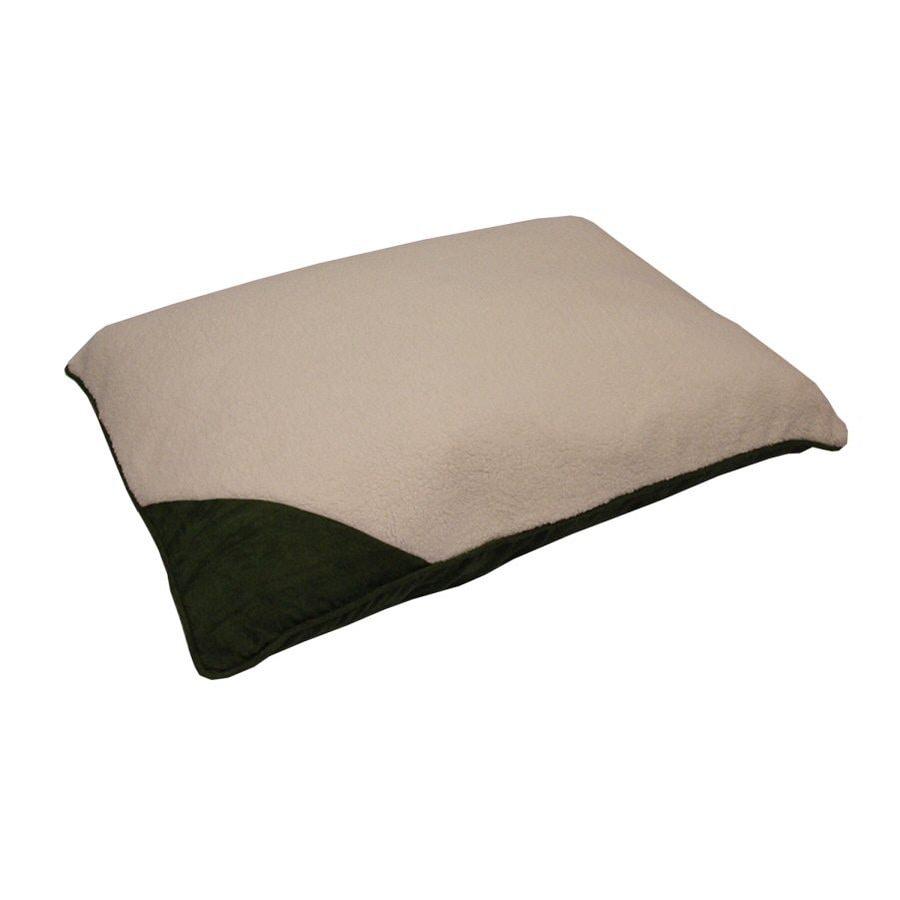 Aspen Pet Multicolor Poly/Cotton Rectangular Dog Bed