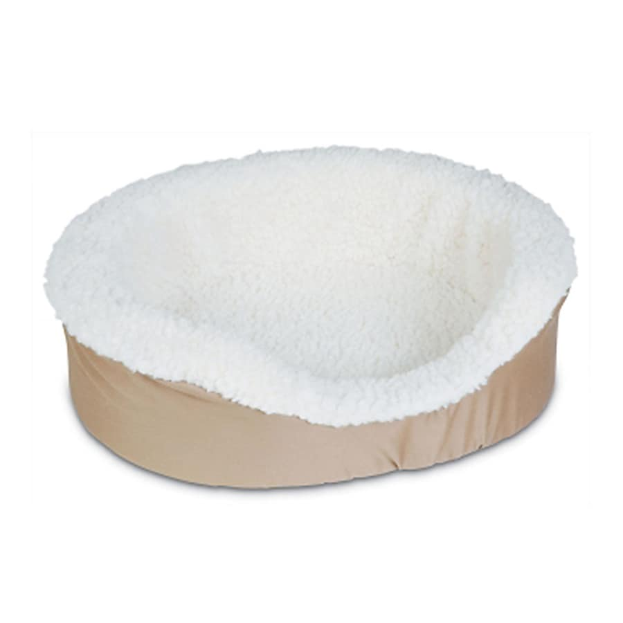 Doskocil Natural Twill Oval Dog Bed