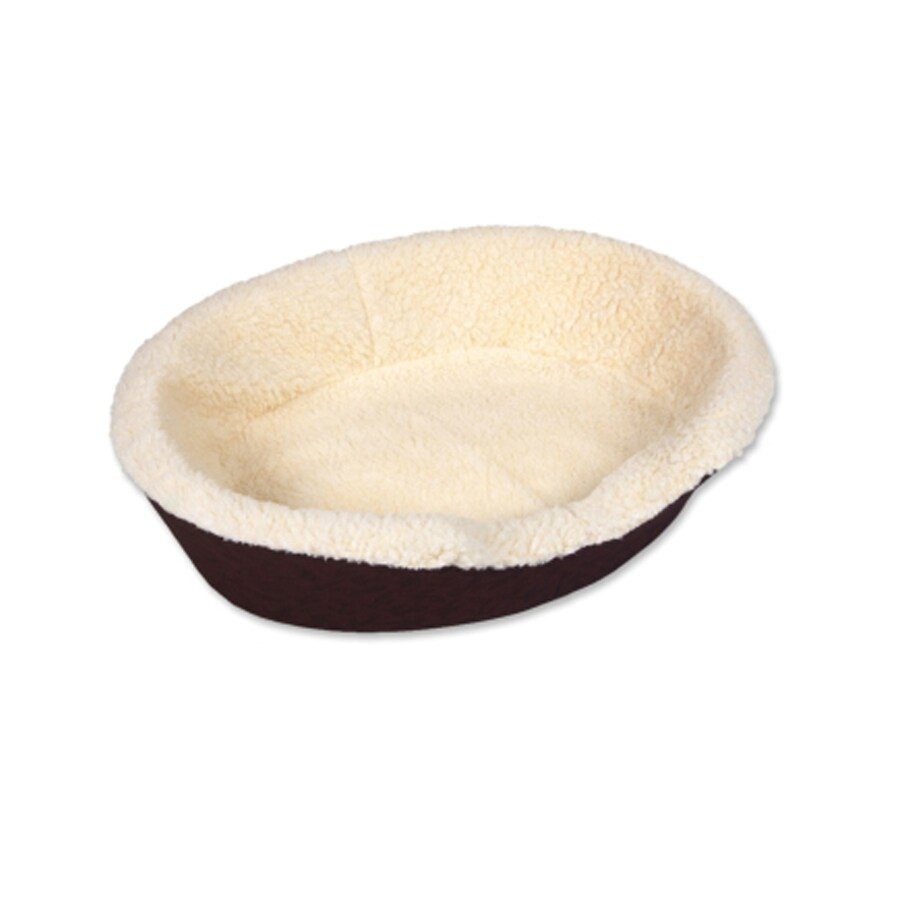 Doskocil Natural Fleece Oval Dog Bed