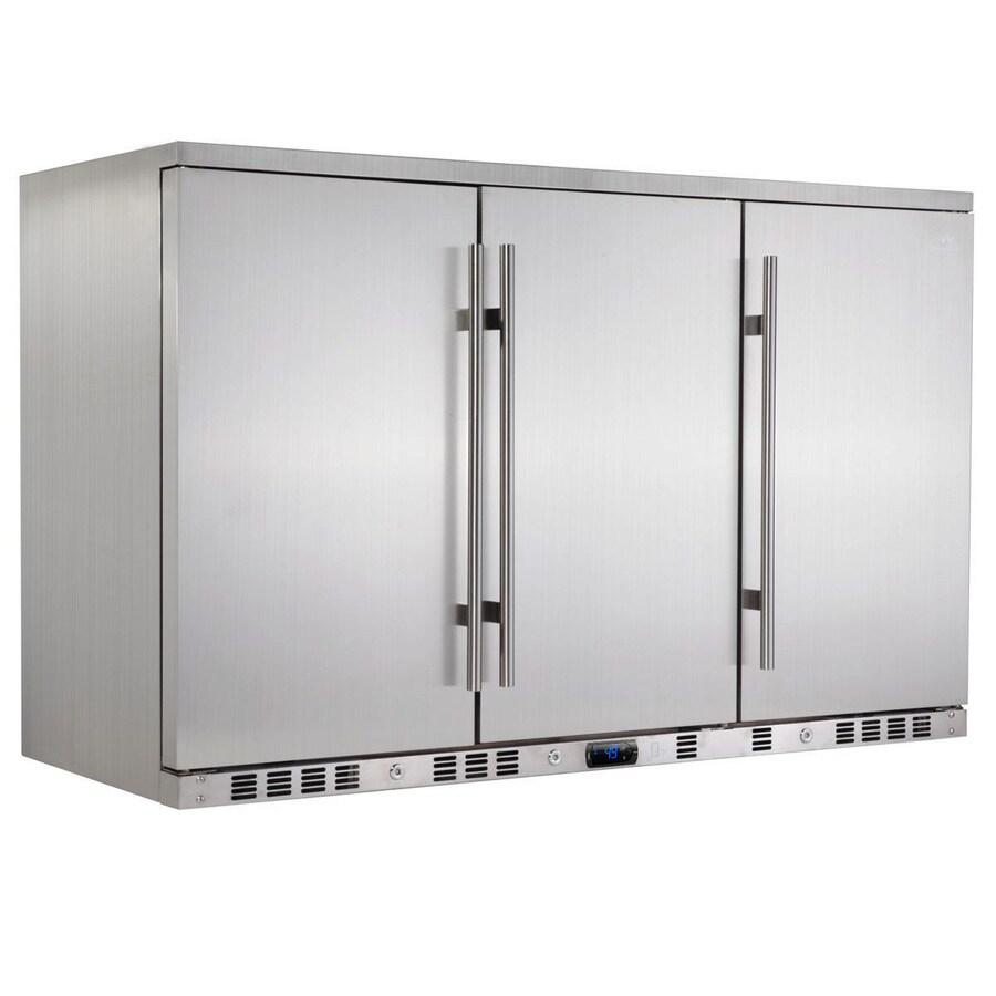 KingsBottle 11.12-cu ft Stainless Built-In/Freestanding Commercial Beverage Center