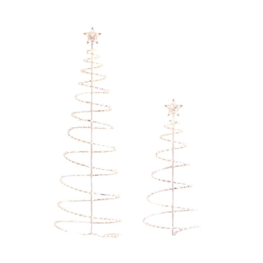 Holiday Living Pre-Lit Plastic Freestanding Sculpture with Constant White Incandescent Lights