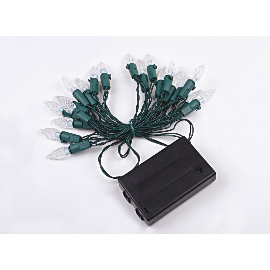 Holiday Living 20-Count LED Novelty White Christmas String Lights