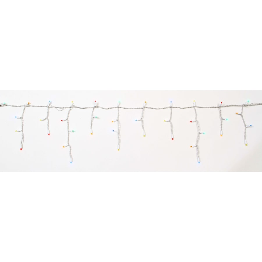Holiday Living 100-Count Multicolor Dome LED Christmas String Lights ENERGY STAR