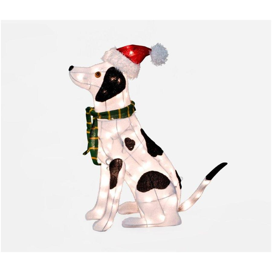 Holiday Living 26-in Tinsel Christmas Dalmation