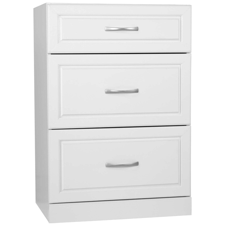 Ameriwood 24-in W x 35-in H x 17-in D 3-Drawer Cabinet Banks
