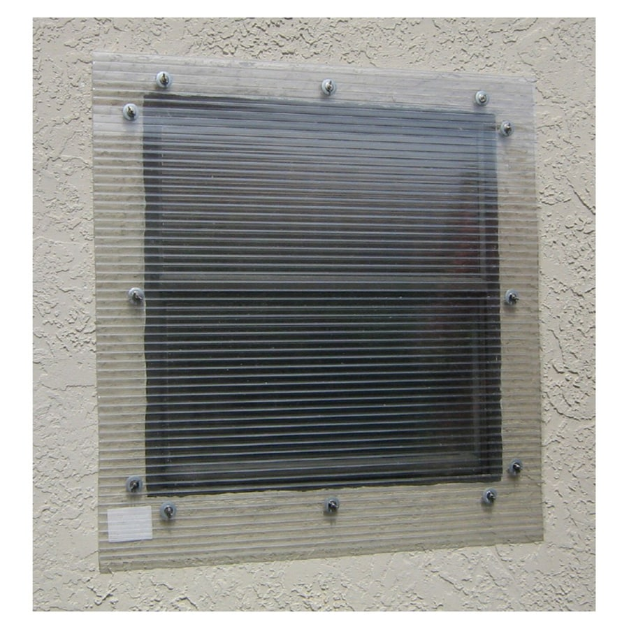 Storm-Busters 48-in x 72-in Clear Polycarbonate Hurricane Shutters