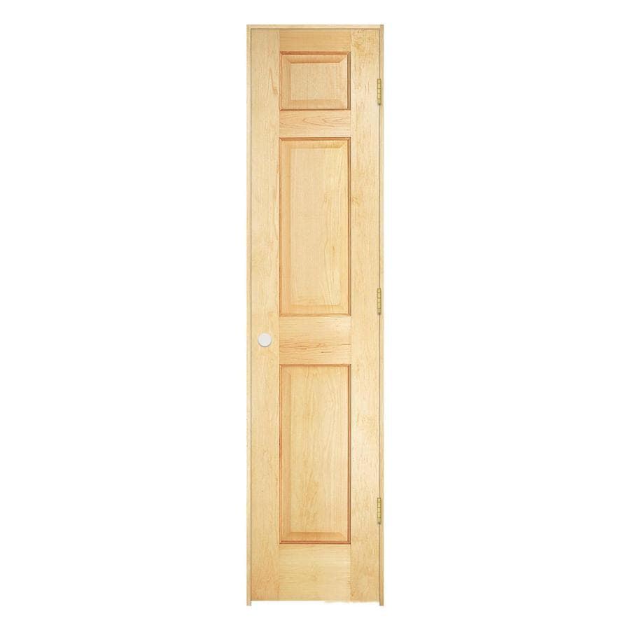 Shop reliabilt prehung solid core 6 panel pine interior for 18 x 80 closet door