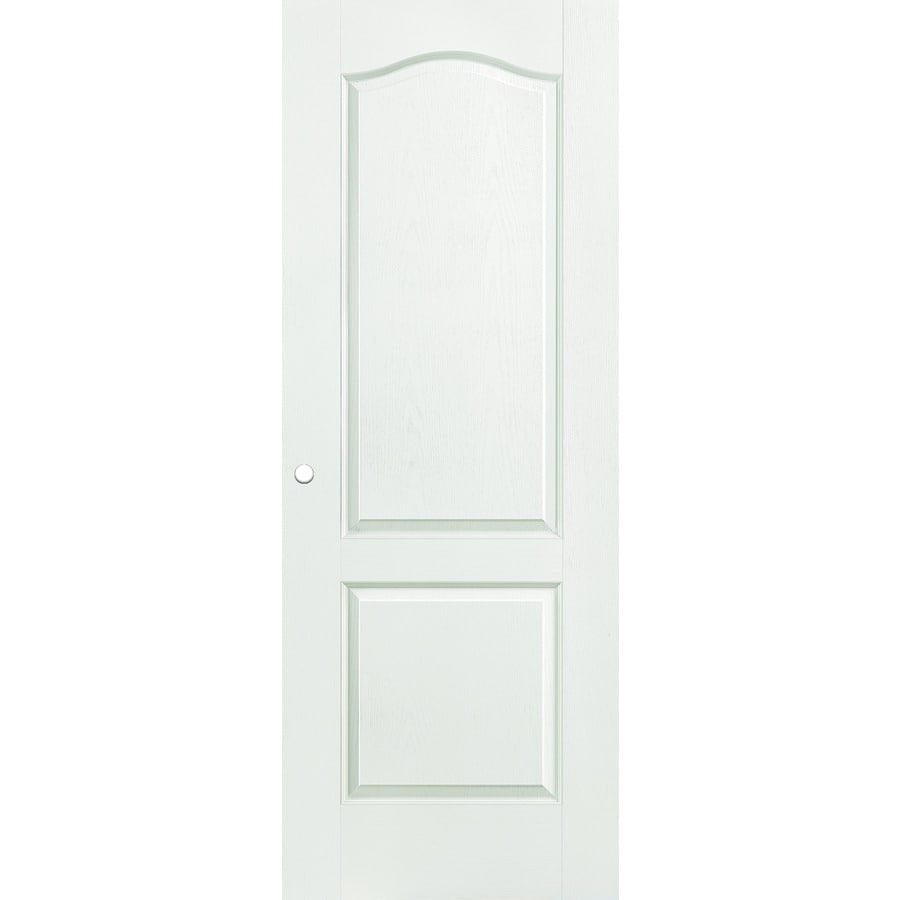 ReliaBilt Hollow Core 2-Panel Arch Top Slab Interior Door (Common: 36-in x 80-in; Actual: 36-in x 80-in)